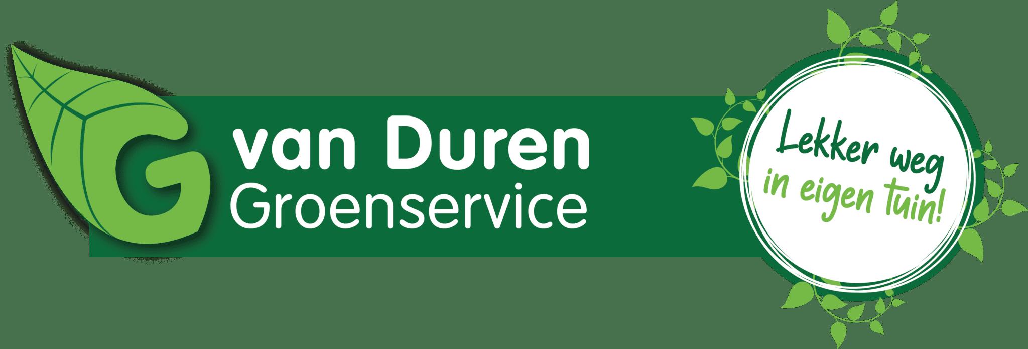 Van Duren Groenservice logo