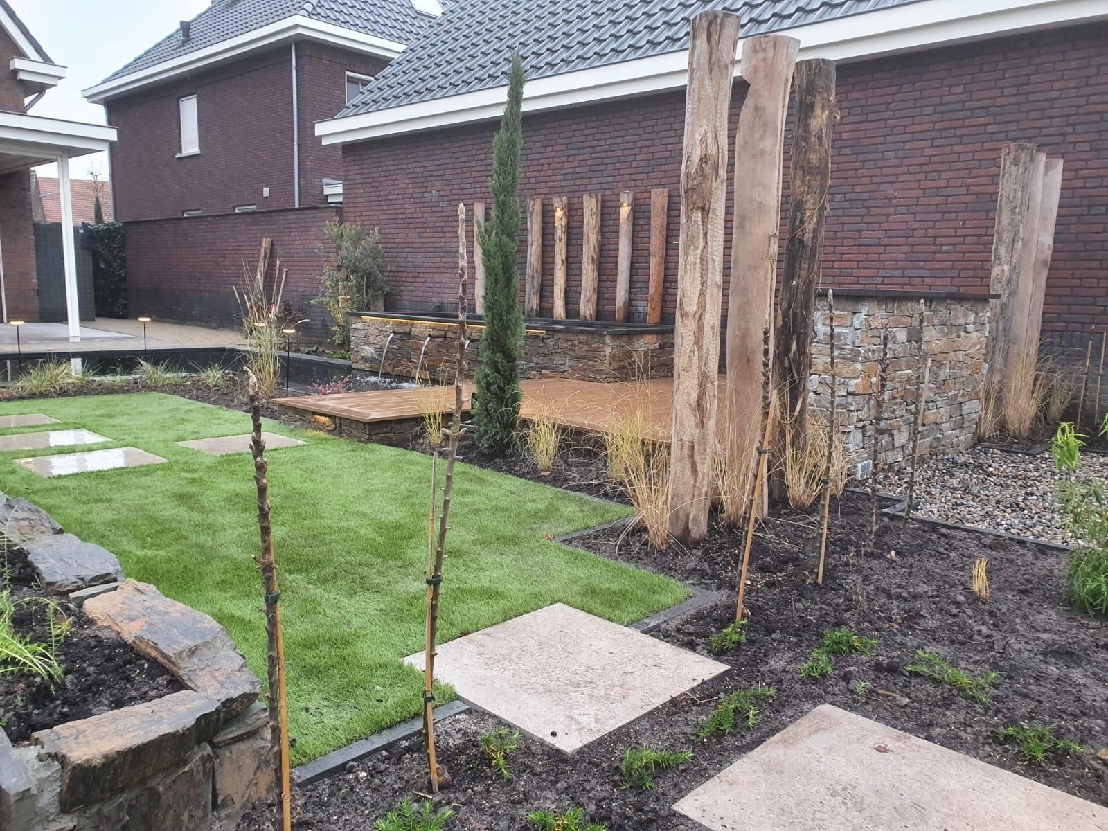 Lekker weg in eigen tuin project